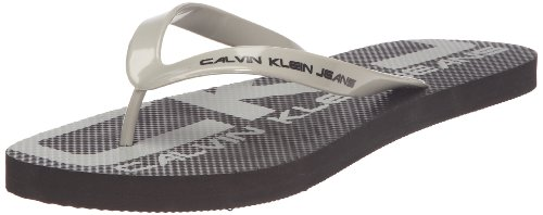 Calvin Klein Jeans Smith, Tongs homme Gris