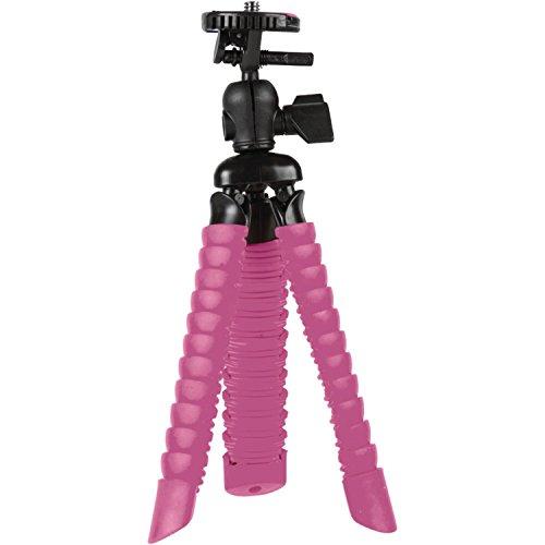 Vivitar Gummierte Spider Bluetooth Stativ–Pink