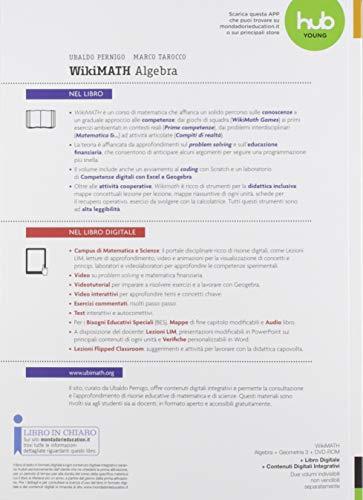 Wiki math. Aritmetica-Geometria. Per la Scuola media. Con e-book. Con 2 espansioni online: 3