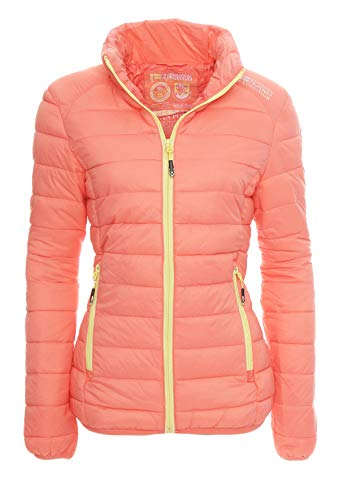 Geographical Norway - Blouson - Doudoune - Femme - rose - Large