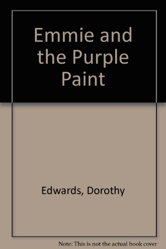 Emmie and the purple paint