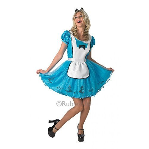 Disney Licensed Sassy Alice In Wonderland - Adult Costume Lady: L (UK 16-18) by ()