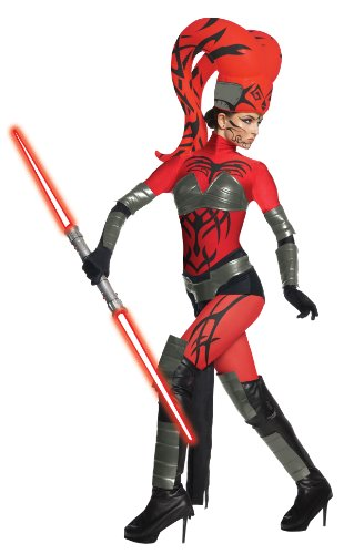 Darth Talon Damenkostüm aus Star Wars, Größe:L (Star Wars Darth Talon)