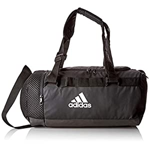 adidas TR Cvrt Duf S Gym Bag, Unisex Adulto, Black/Black/White, NS