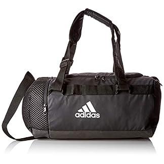 adidas TR Cvrt Duf S Gym Bag, Unisex Adulto, Black/Black/White, NS