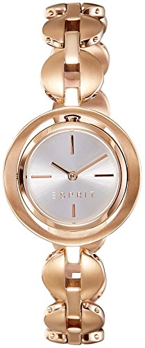 Esprit Ladies Watch Thun Ilary Angel Figurine with White Dial Analogue Display and Gold Stainless Steel Plated ES108202003