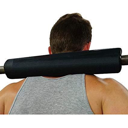 Fitness Guru LP-0533 Rubber Barbell Pad (Black)
