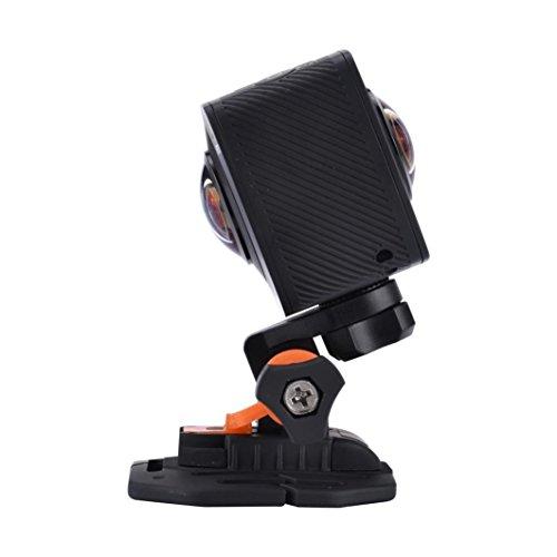 LANDFOX AMKOV AMK100S cámara de 360 grados 1440P 8MP WiFi acción sin...