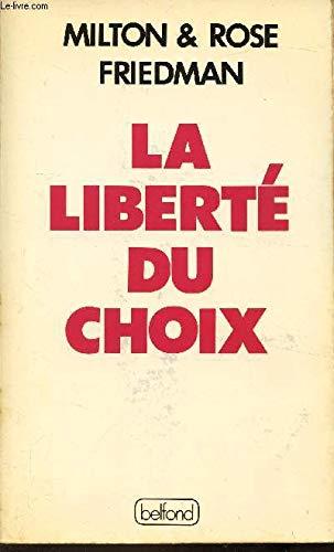 La Liberté du choix