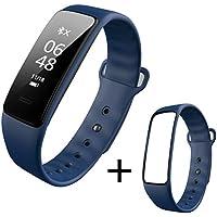ZfgG Intelligente Uhren Intelligente Sport Armband Herzfrequenz Rhythmus Blutdruck Uhr Schritt Schlaf Überwachung Wasserdichte Männer und Frauen Uhr Herzfrequenz Blutdrucküberwachung Anruf SMS Smart R