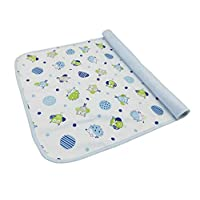 Jiushilun Changing mats Baby Portable Foldable Washable Travel Nappy Diaper Changing Mat Waterproof Baby Floor Mat Change Play Mat H 2PCS,50X70CM