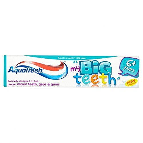 Zahncreme BIG TEETH Aquafresh x 3 - 50ml - Aquafresh Tooth