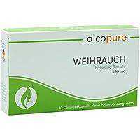 WEIHRAUCH 450 mg • Boswellia Serrata • Weihrauch Kapseln • vegan • 292,5 mg reine Boswellinsäuren • Made in Germany... preisvergleich bei billige-tabletten.eu
