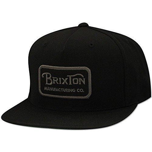 Brixton Grade Snapback Cap Black