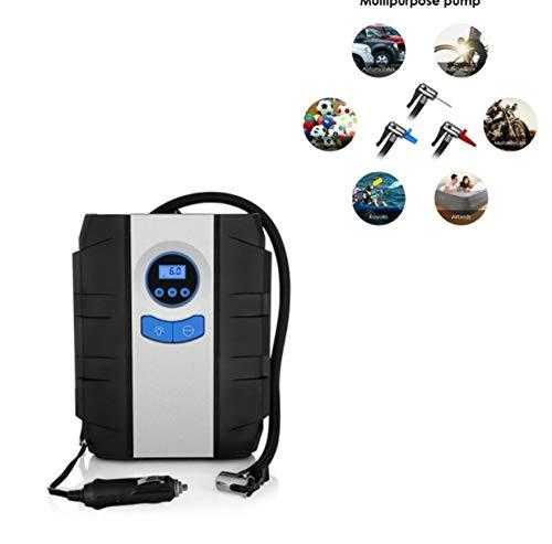 kgftdk Luftkompressor-Auto-Luftpumpe-Auto-Aufblasbare Pumpe 12V Tragbarer Automobil-Reifen-Inflator-Mini Elektrisches Automobil Mit Reifen-Taschenlampe