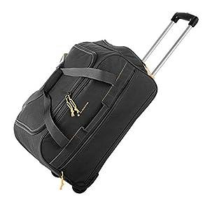 GLADIATOR 065804 2019 Bolsa de Viaje, 55 cm, 25 litros, Negro