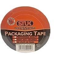 Stuk professionale Grade ppt5066b-350mm x 66m Nastro Adesivo per imballaggio, colore: marrone (Confezione da 3)