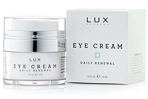 Augencreme für Falten und Augenringe - reduziert Schwellungen und Schatten der Augenpartie - reduziert feine Fältchen und Krähenfüße
