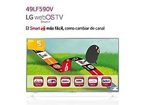 LG LF590V–Écran FHD avec Smart TV (1080x 1920, 400Hz), Argent