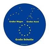 Grosser Wagen - Grosser Hund - Grosse Scheisse Aufkleber Autoaufkleber Sticker Vinylaufkleber Decal