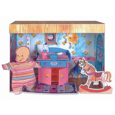 BABY born® miniworld 766286 - BABY born® miniworld Wickeltisch Set