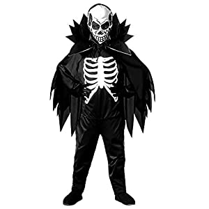 WIDMANN Scary Skeleton - Kids Halloween Costume 8-10 years (disfraz)