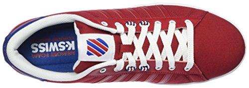 K-Swiss Herren Hoke T Cmf Sneakers Weiß(CHILI PEPPER/LIMOGES/WHITE 623)