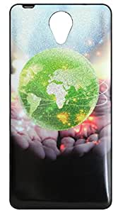 Vcare Shoppe Printed Back case cover for MICROMAX CANVAS MEGA 4G Q417