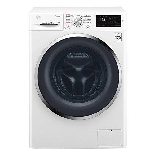 LG F 14WM 8P5KG Waschmaschine Frontlader / A+++ / 1400UpM / Steam Funktion: Die Wellness-Oase für Ihre Kleidung / Smart Diagnosis