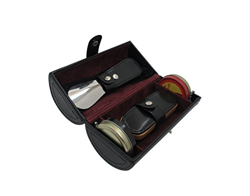 cordays-deluxe-kit-entretien-chaussures-avec-brosse-chausse-pied-chamoisine-et-crme-haute-brillance-