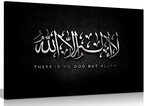 Leinwand-wand-kunst Arabisch (Leinwandbild / Kunstdruck, Arabische / Islamische Kalligraphie, A0 91x61cm (36x24in))