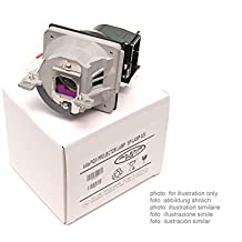 Alda PQ Original, Lámpara de proyector / repuesto AJ-LBX2 / EBT43485103 para LG BS254, BX254 Proyectores, lámpara de marca con PRO-G6s caja / montura