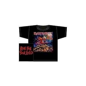 Iron Maiden - T-Shirt Run to the Hills (in XL)