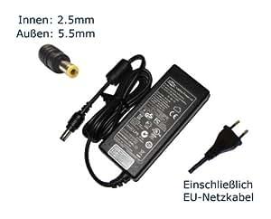 Bloc d'alimentation pour ordinateur portable asus g73JH g73Jw-x5–rOG g73Jw-xt1 pC portable chargeur, chargeur, adaptateur aC, pièce de rechange compatible avec alimentation secteur (câble d'alimentation inclus), marque laptop power