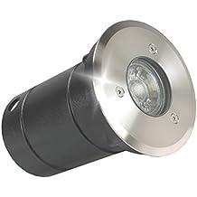 LED Teichleuchte LED Teich Aufbauleuchte LED Gartenleuchte Edelstahl IP68