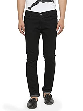 Ben Martin Men's Denim Regular Fit Jeans, 28(Black, BMW-JJ3-BLACKn-p4-28)