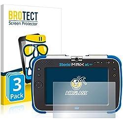 BROTECT Protection Ecran Verre Compatible avec Vtech Storio Max XL 2.0 [3 Pièces] - Protecteur Vitre 9H, AirGlass