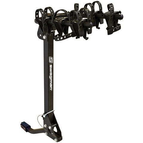 Swagman Trailhead 3 Folddown Bike Rack(2 & 1 1/4 Receiver) by Swagman Bicycle (Swagman 3 Bike)