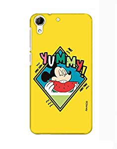 Pick Pattern with Exclusive DISNEY Characters Back Cover for HTC Desire 728