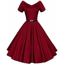 Vintage années 50 s Style Audrey Hepburn Rockabilly Swing, Robe de ...