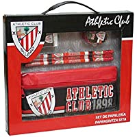 C Y P 0 Athletic Club Bilbao-Set de papeler&Iacutea en Caja con portatodo, GS-