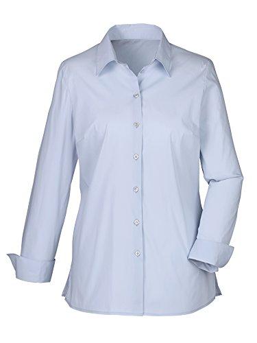 Damen Bluse mit Baumwolle by MONA Blau