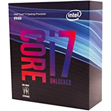 Intel Core i7-8700K  - Procesador (up to 4.70 GHz, 8ª generación de procesadores Intel Core i7, 3,7 GHz, 12MB Smart Cache, PC, 14 nm, 8 GT/s)