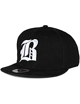 Gorra de béisbol Snapback 3d Gótica Hip-hop multicolor B Black White Regular