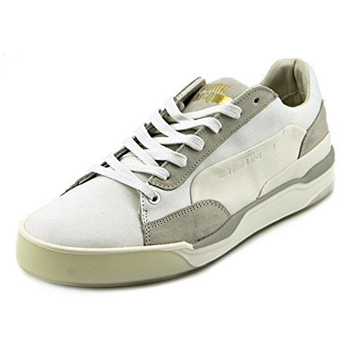 Alexander McQueen By Puma Move LO Lace Up Cuir Baskets Wht-Puma White-Whisper White