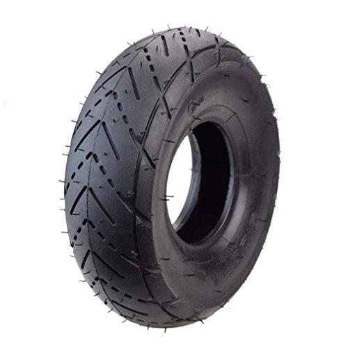 GOOFIT 3.00-4 Reifen für bekannt als (10 x 3 oder 260 x 85) Scooter Tire elektrischen Old Man Scooter - Gas-karts