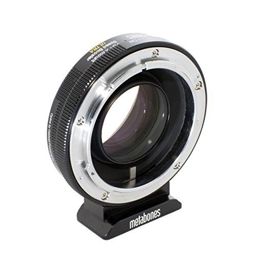 Metabones MB_SPFD-X-BM2 Cable para cámara fotográfica, Adaptador - Adaptador para Objetivo fotográfico (Negro, Cromo)