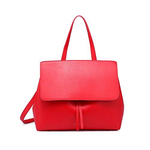LifenewBaby, Borsa a tracolla donna rosso Red Red