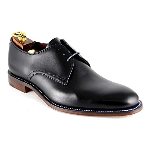 Loake Drake Mens Formal Lace Up Shoes 10.5 Black