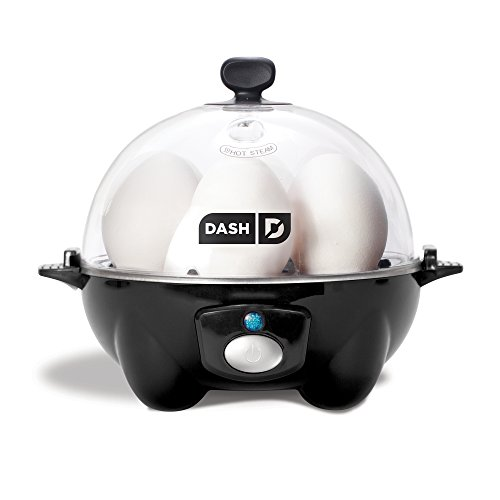 Dash DEC005BK Rapid Egg Cooker, Black by...